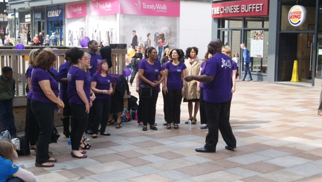 Fundraiser at Wakefield Trinity Shopping Centre